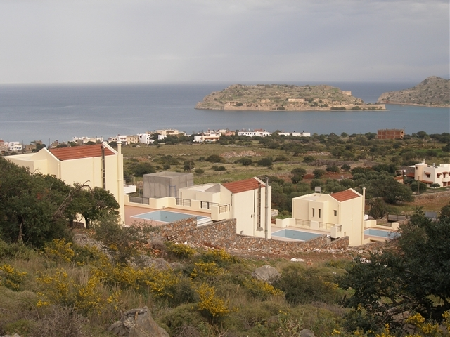 Exclusive Crete villa with pool and sea view for sale near Elounda