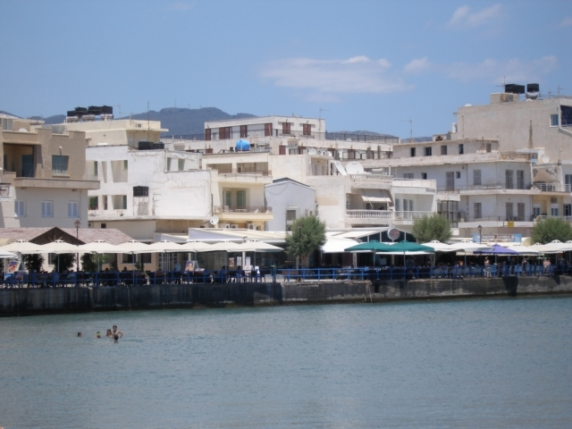 Cretan seafront investment building for sale in prime location