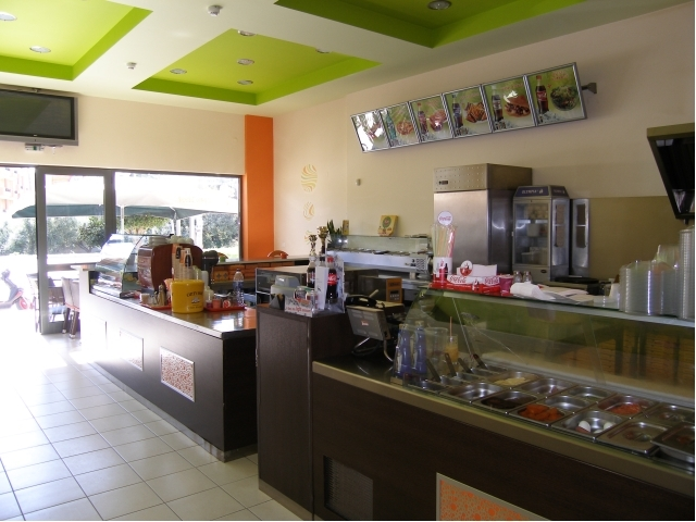 Well located Crete cafe for sale