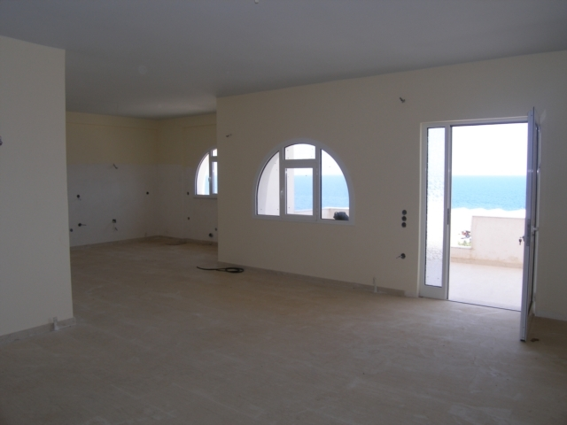 New south coast Crete apartment for sale with sea view