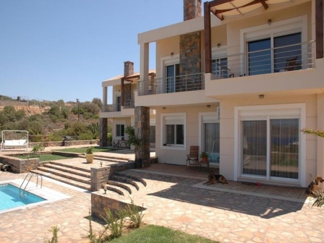 Two 4 bed villas with pool for sale in  Elounda Crete