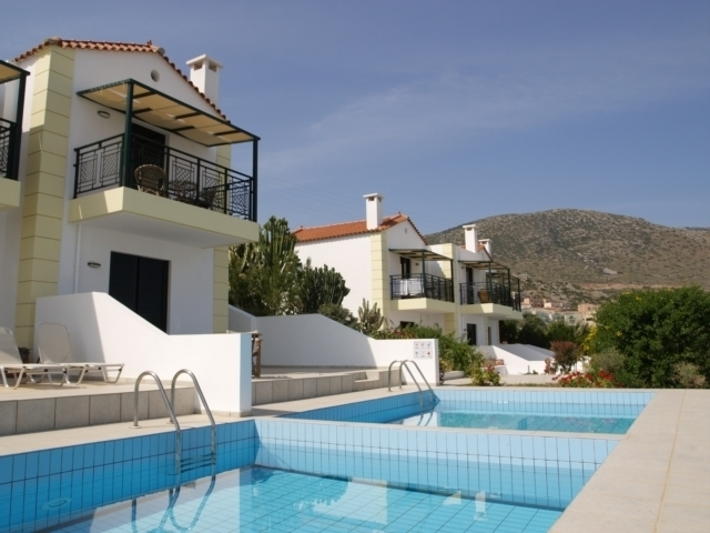 Cretan Hotel complex of villas and apartments for sale