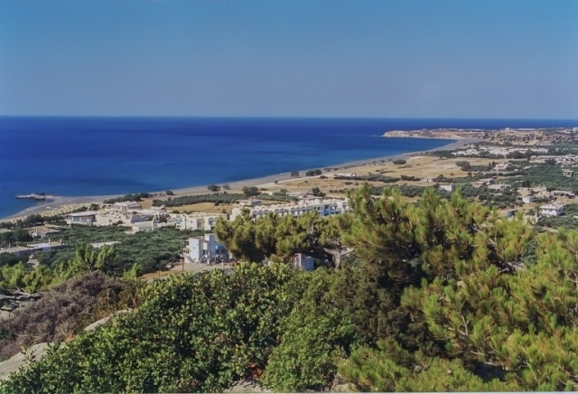 Land plot of 6.600m2 for sale in Koutsounari, Ierapetra