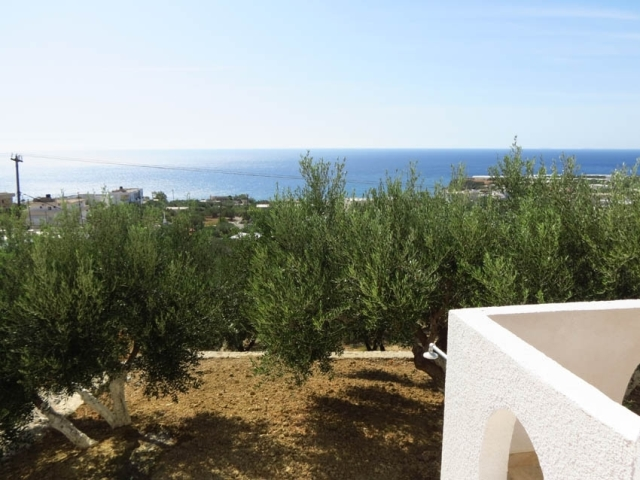 Detached house with sea views for sale in Ierapetra