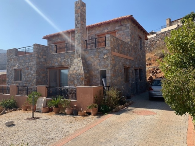 Furnished detached house for sale close to Elounda