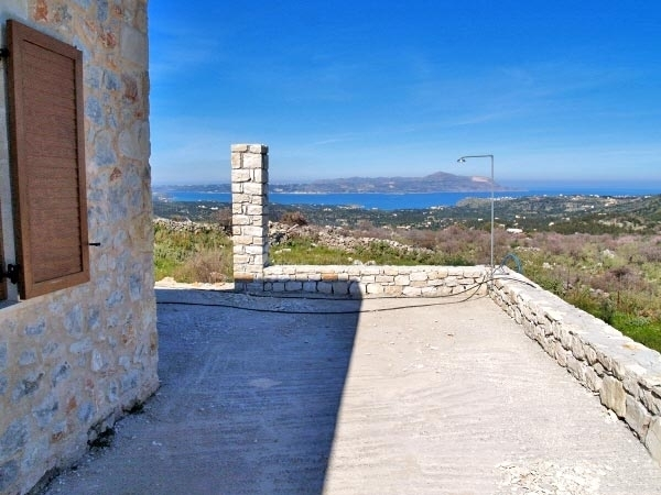 New built stone house for sale in Apokorona - Chania