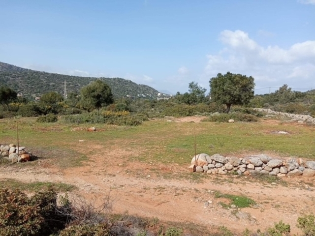 Land plot for sale in Vathi close to Aghios Nikolaos