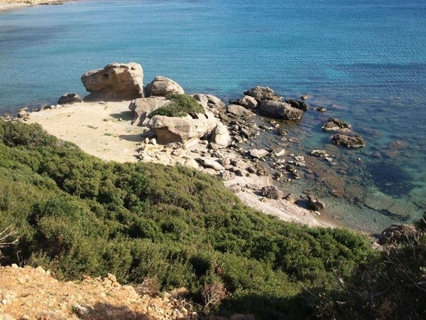 A seafront land plot  for sale in Chania