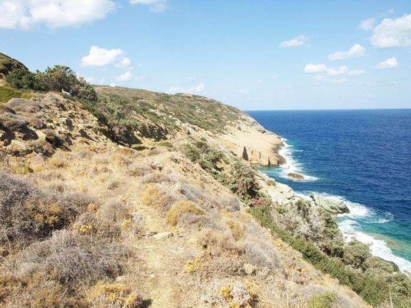 A unique seafront land plot  for sale in Heraklion