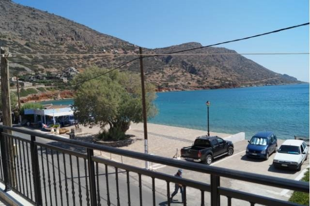 A first floor apartment is for rent in Elounda