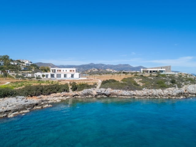 Seafront Luxury villa for sale
