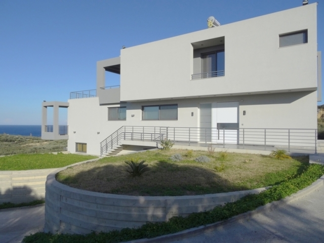 Modern villa for sale with sea views close to Sitia