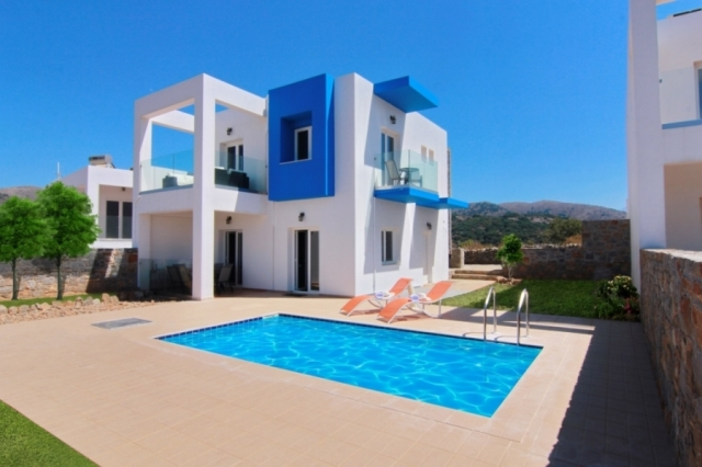 Luxurious villa of 130m2 for sale close to Kounali, Eastern Crete