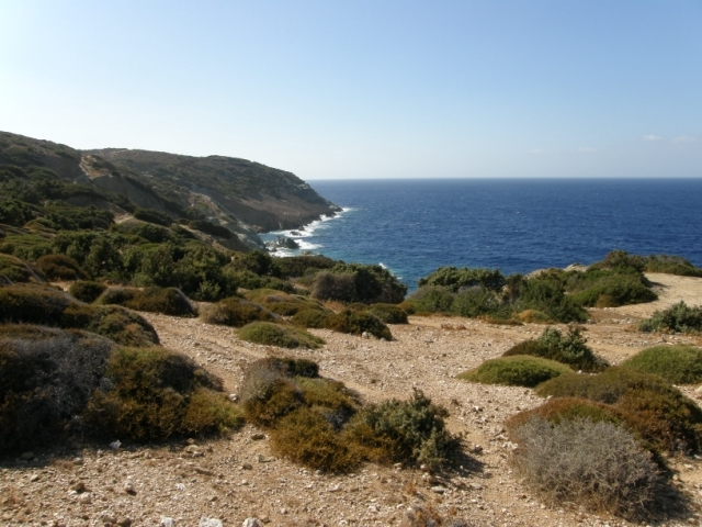 A seafront investment plot is for sale in Agia Pelagia