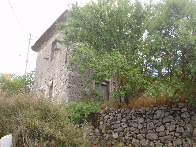 An old two- storey stone house is for sale in Lassithi Plateau