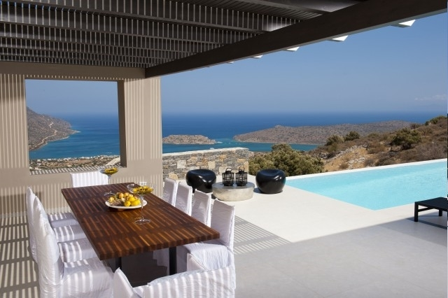 Luxurious villa for sale in Elounda