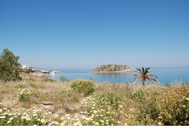 Seaside building plot of 4.000m2 for sale in Mochlos, Sitia