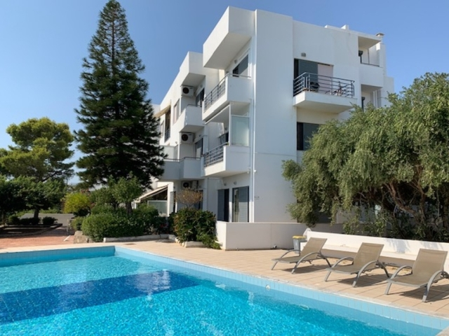 Αpartment with  2 bedrooms and pool for sale