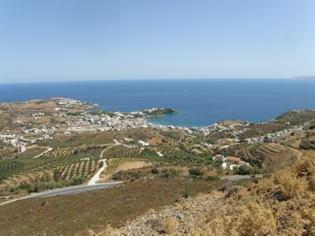Crete land plot for residential or commercial development with sea view for sale